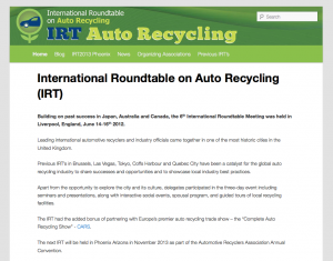 IRT- Auto Recycling
